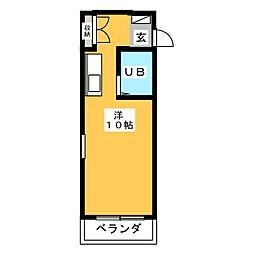 エステートピア21[2階]の間取り
