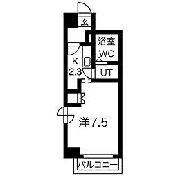 パークアベニュー札幌[4階]の間取り