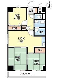 シーサイドアベニュー[3階]の間取り