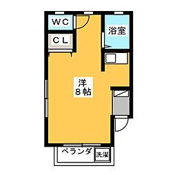メゾン妙興寺[1階]の間取り