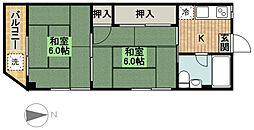 志村ビル[2階]の間取り