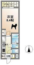 サムティ本町AGE[14階]の間取り