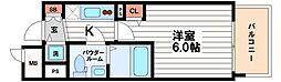 プレサンス松屋町グレース[5階]の間取り