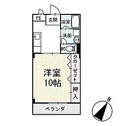 プレステージ明下 3階[302号室]の間取り