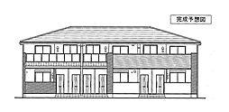徳島県板野郡北島町鯛浜字西中野の賃貸アパートの外観