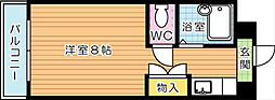 折尾自由ヶ丘センチュリー21[3階]の間取り