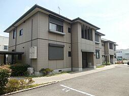 和歌山県和歌山市中島の賃貸アパートの外観