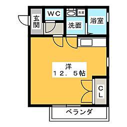 ラフォーレ花池[2階]の間取り