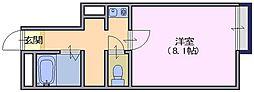 レオパレス 富堂[102号室]の間取り