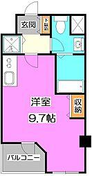 レスピール富士見台[2階]の間取り