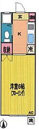シティハイムヤマト[1階]の間取り