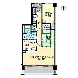 アルファパーク屋島弐番館[3階]の間取り