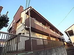 松丸ハイツ6号棟[2階]の外観