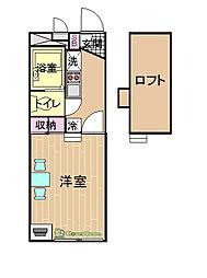 神奈川県相模原市中央区南橋本2丁目の賃貸マンションの間取り