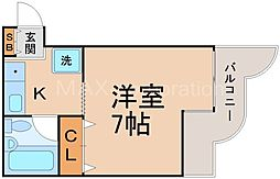 メゾン・シクロ[3階]の間取り