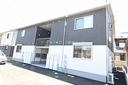 岡山県岡山市北区西長瀬の賃貸アパートの外観