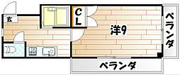 ロイヤルセンチュリー[2階]の間取り