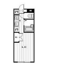 ビートルズスクエア[2階]の間取り