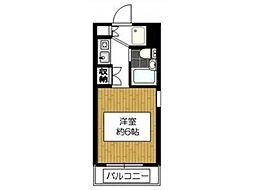 ダイホープラザ橋本III[1階]の間取り