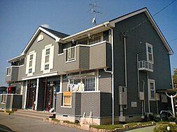 大阪府堺市南区岩室の賃貸アパートの外観