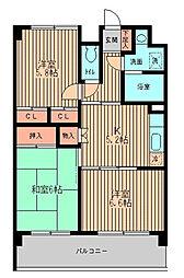 戸塚区矢部町 戸塚駅徒歩15分 ベルアネックス[1階]の間取り