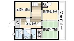 新和ビル[402号室]の間取り