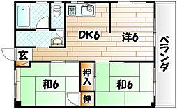 原田ビル[8階]の間取り