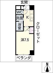ファーニッシュ太平通[9階]の間取り