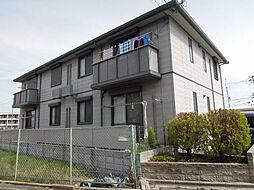 大阪府東大阪市西岩田4丁目の賃貸アパートの外観