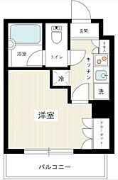 ヴィーヴ横浜白楽壱番館[3階]の間取り