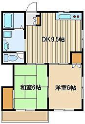 東京都練馬区大泉学園町7の賃貸アパートの間取り
