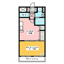アヴニール (AVENIR)[2階]の間取り
