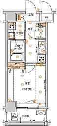 ハーモニーレジデンス東京イーストコア002[2階]の間取り