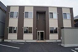 北海道札幌市手稲区富丘二条3丁目の賃貸アパートの外観
