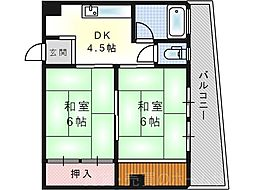 幾島マンション[1階]の間取り