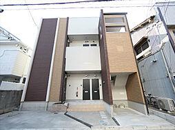 愛知県名古屋市中村区角割町1丁目の賃貸アパートの外観