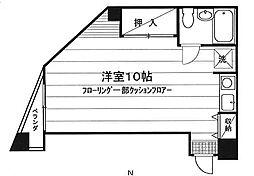香田ビル[301号室]の間取り