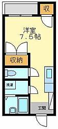 平成インタービル[301号室]の間取り