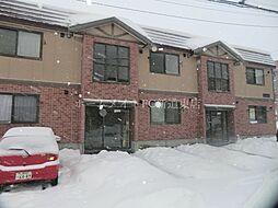 北海道札幌市北区拓北五条4丁目の賃貸アパートの外観