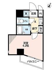 ラナップスクエア新福島[2階]の間取り