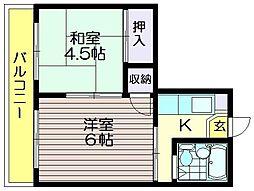丸加ビル[3階]の間取り