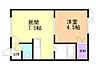 間取り,1DK,面積25.51m2,賃料3.5万円,バス くしろバス愛国電話交換局前下車 徒歩2分,,北海道釧路市文苑1丁目5-20