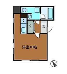 VRD相生ノース[1階]の間取り