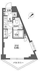 ムーブメンツ西早稲田[0402号室]の間取り