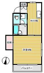 第三すみよさ荘[1階]の間取り