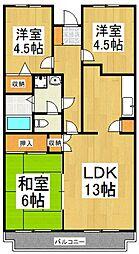 NSマンション[1階]の間取り