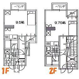 ファミリーコート 1F[106号室]の間取り