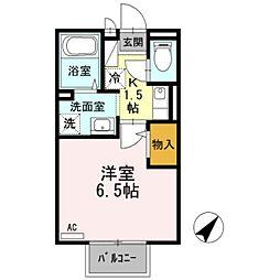 セジュール加守田SE[2階]の間取り