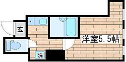 兵庫県神戸市中央区筒井町3の賃貸マンションの間取り