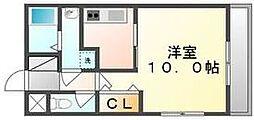 香川県高松市太田下町の賃貸マンションの間取り